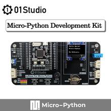 01 estúdio micropython pyboard v1.1 cn stm32 python programação desenvolvimento embutido placa de demonstração