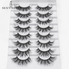 US $0.75 34% OFF|2/5/8 Pairs lashes Natural long 3D Faux Mink Eyelashes Thick HandMade Full Strip Lashes Volume Soft Mink Lashes False Eyelashes-in False Eyelashes from Beauty & Health on Aliexpress.com | Alibaba Group