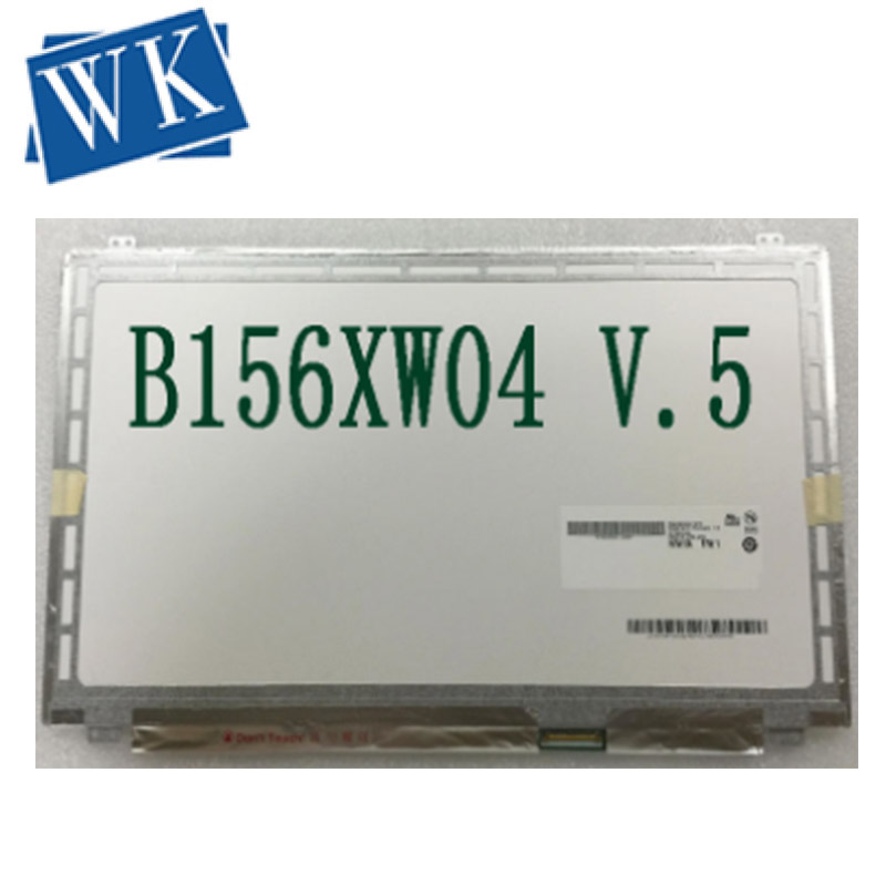 Free Shipping B156XW04 V.5 LP156WH3 B156XW03 N156BGE-L41 N156B6-L0D LTN156AT20 LTN156AT30 LP156WH3 LED Display Laptop Screen