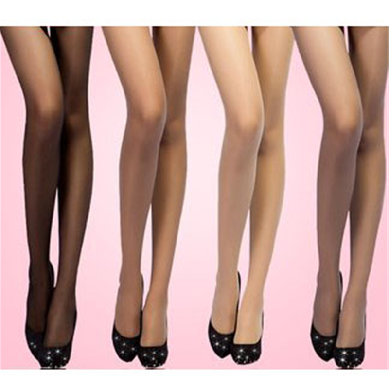 Women Stockings Thin Section Summer Anti-hook Wire Steel Quality Plus Size Female  Sexy Stockings One Pack Of 8 Piece