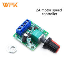 PWM DC 2A Motor Speed Controller 1.8V 3V 5V 6V 12V Speed Regulating Switch Motor Control 1803BK 1Pcs