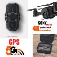 ICat1 Professional Drone GPS with Camera 4K HD 5G WIFI FPV Smart Follow 23 Mins Flight Time RC Dron Quadcopter VS X12