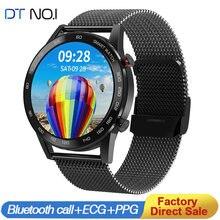 DT NO.1 DT95 Смарт-часы для мужчин с Bluetooth вызовом IP68 Водонепроницаемый ЭКГ термостат 360*360 будильник для сна Бизнес Спорт Бизнес Смарт-часы