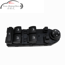 Left Front Door Glass Lifter Window Switch Mirror Switch For BMW E60 E61 5 series 61316951919 sktoo for kia sportage r window lifter switch assembly with the mirror fold the left front door glass levelers switch with high