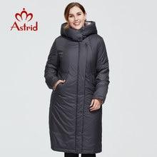 Astrid 2020 nouveau hiver femmes manteau femmes longue chaude parka mode épais veste à capuche Bio-Down grandes tailles femme vêtements 6703