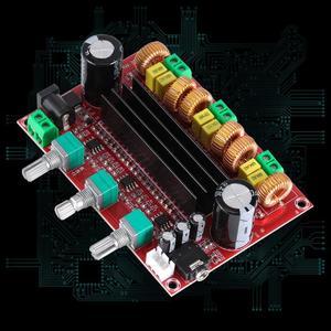 Image 4 - TPA3116D2 2.1 Digital Audio Amplifier Board DC 24V 80Wx2+100W Subwoofer 3 Channel Amplificador Module for 4 8 Ohm Speaker
