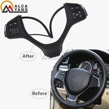 Suzuki için Vlivo 2015 2018 Vitara 2016 2018 s çapraz 2016 cruise kontrol anahtarları direksiyon düğmeler araba aksesuarları düğmeleri