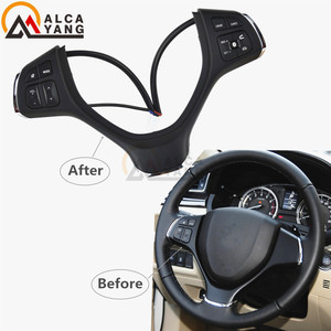 Image 1 - Suzuki için Vlivo 2015 2018 Vitara 2016 2018 s çapraz 2016 cruise kontrol anahtarları direksiyon düğmeler araba aksesuarları düğmeleri