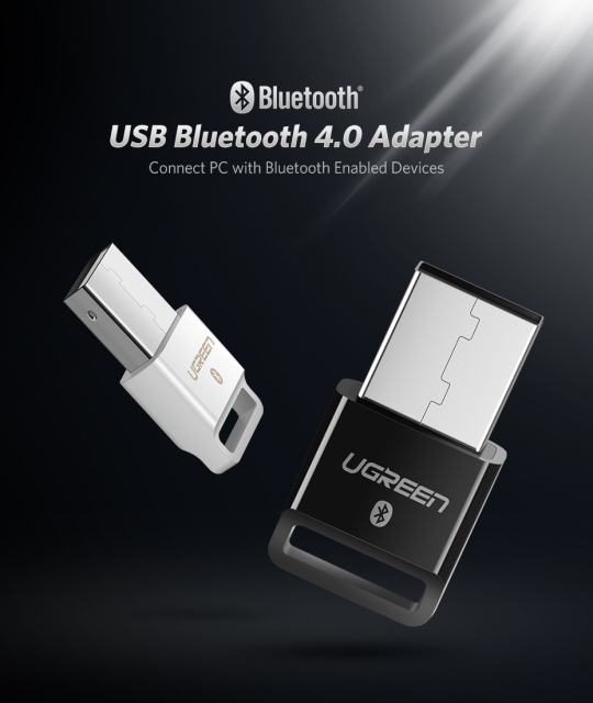 USB and Bluetooth Dongle Receiver 4.0 for PC