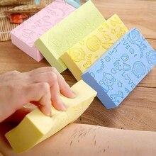 Soft Body Scrubber Bath Exfoliating Sponge Shower Brush Skin Cleaner Cleaning Sponge Pad Body Dead Skin Remover Bathing Supplies