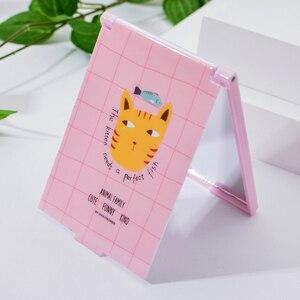 Image 3 - Vicney taşınabilir katlanır makyaj aynası tek taraflı seyahat tıraş makyaj aynası kompakt cep aynası katlanır taşınabilir sıcak satış