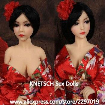 KNETSCH 100cm Sex Doll TPE Skeleton Adult Sex Toys Love Doll Lifelike Breast Vagina Pussy Oral Sexy Doll For Men Masturbation