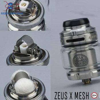zeus mesh rta tank 2ml/5ml zeus mesh coil rtaTank Vape vape atomizer fit mesh coil 810 drip tip atomizer vs Zeus x Rta Kylin M