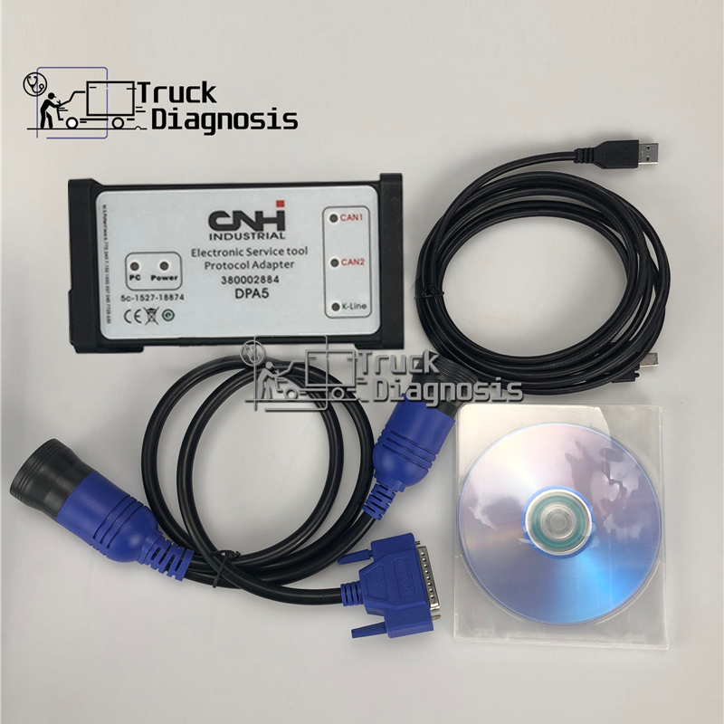 9 2 version CNH Est Diagnostic Kit New Holland CASE diagnostic tool dpa5 CNH est 380002884 Holland CASE