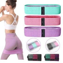 3PCS Resistance Bands Fitness Booty band Elastic Rubber Expander Band For Home Workout Hip Lifting Exercise Equipment
