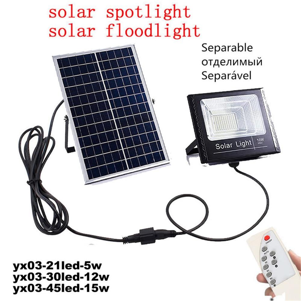 10-25-30W太阳能投光灯