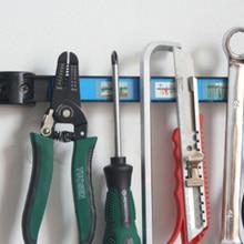 Magnetic Tool Holder Bar 8 Strong Hardware Organizer for Garage Workshop