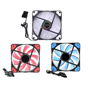 Heatsink Cooler Cooling-Fan Computer-Case 120mm 3pin No 33 12V Led-Lights 4pin-Plug PC