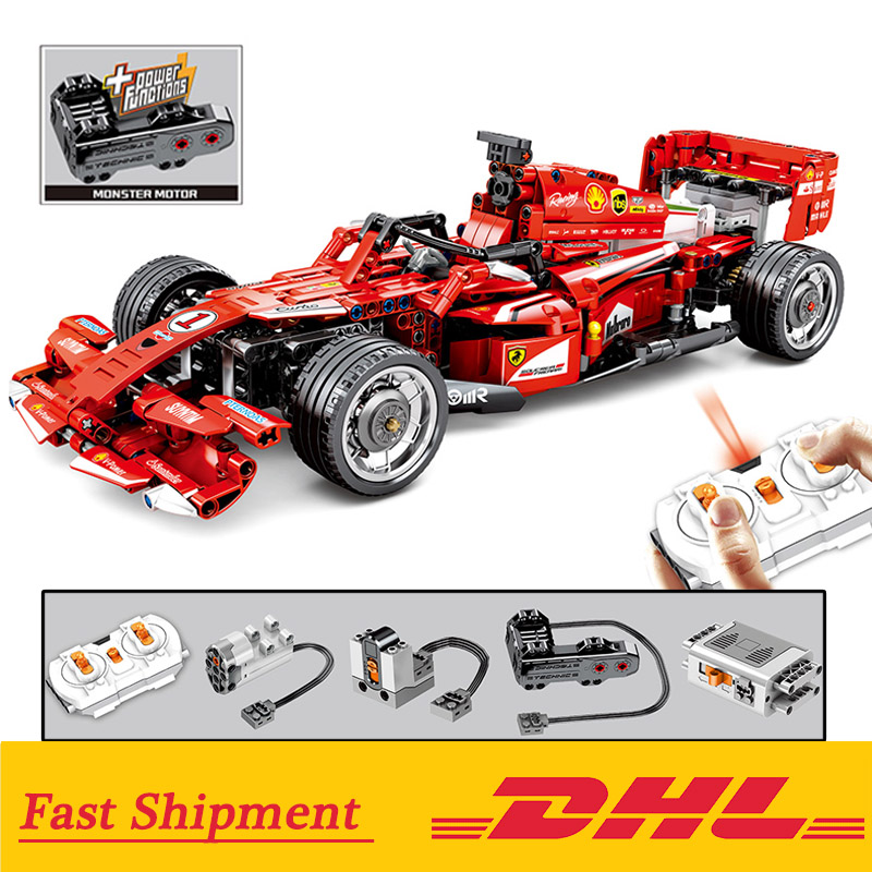 The Remote Control Ferrari F1 1 10 Set Compatible Lepinblocks Technic Racers 8674 Buidling Blocks Education Toy For Boy Children Blocks Aliexpress