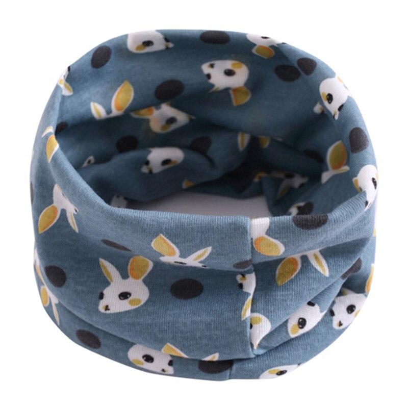 Весенне-осенне-зимний детский хлопковый шарф для От 0 до 10 лет, Детские шарфы с героями мультфильмов, модный теплый воротник - Цвет: 61