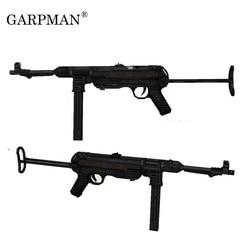 84 см 1:1 немецкая Mp40 пистолет-подмашина 3D бумажная модель оружие Frearms ручные чертежи Военная бумага реквизит пистолет Модель бумажные издели...