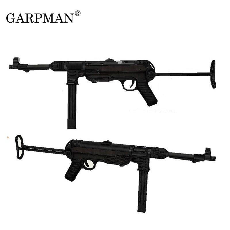 1//6 Scale 5PCS Pistol MP40 Copper Bullets Parabellum 9mm Toy Model
