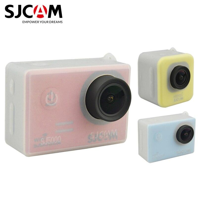 Accesorios Originales SJCAM funda protectora de silicona para cámara de acción deportiva SJ4000/M10/SJ5000 Series