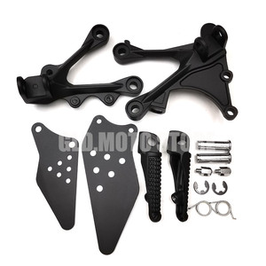 Image 1 - Motorcycle Front Rear Footrest Foot Pegs Set For Kawasaki ZX6R ZX 6R ZX636 2005 2006 2007 2008 2009 2010 2011 2012 2013 2014