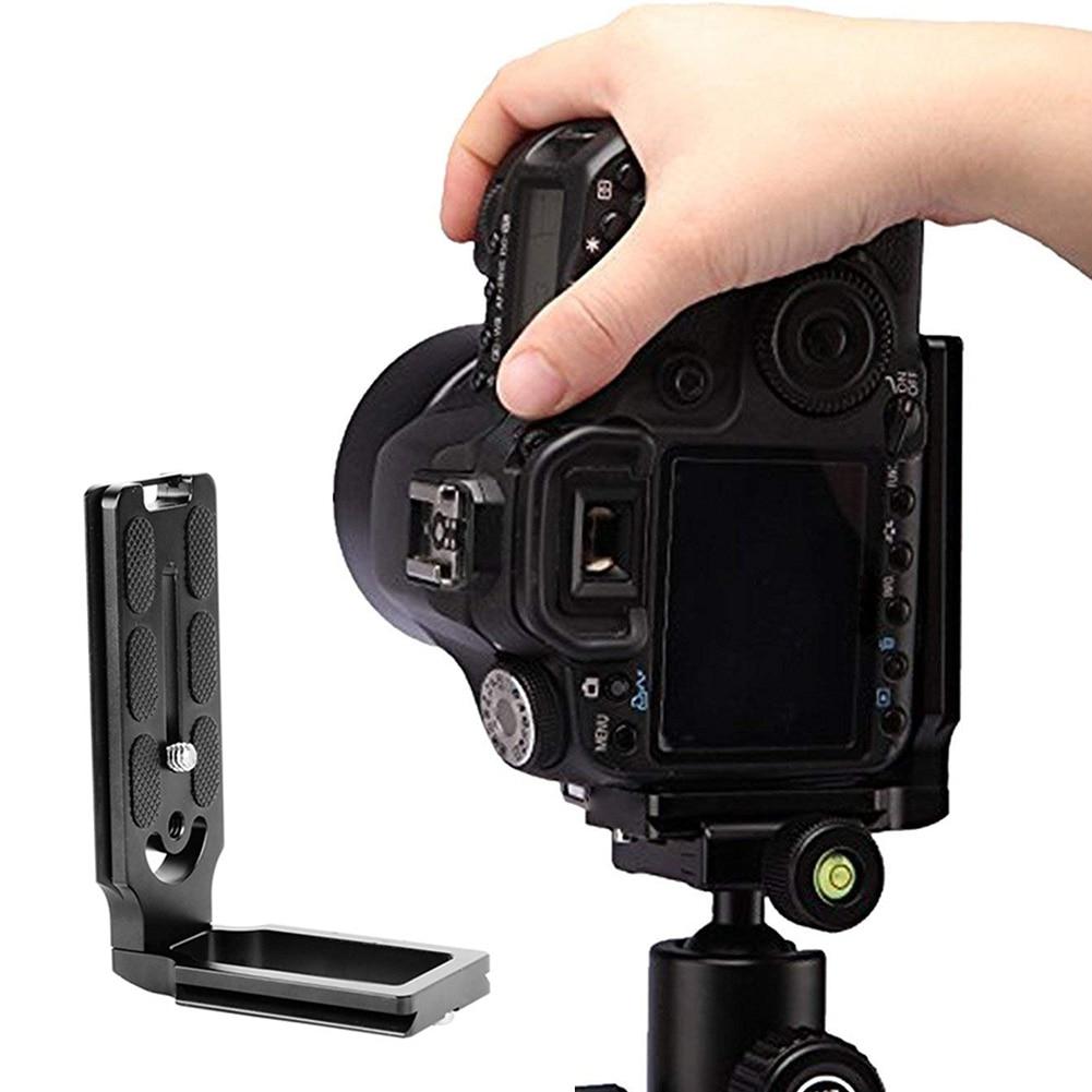 Placa de liberação rápida de suporte de tripé de suporte - Câmera e foto - Foto 2