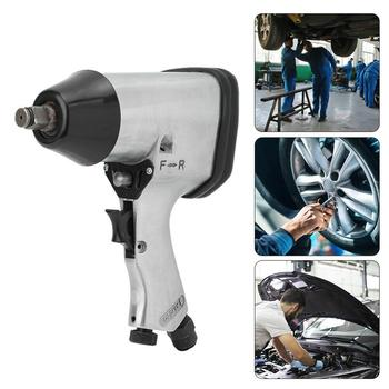 цена на 1/2 Inch Air Pneumatic Torque Impact Wrench Tool For Car Wheel Repairing Durable Air Wrench Die Cast Aluminum DIY Pneumatic Tool
