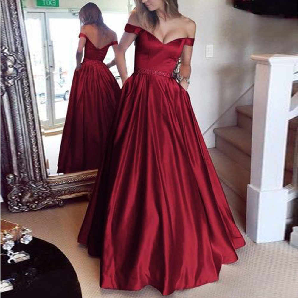 Sexy Sleeveless Off Shouder Long Dress For Woman High Waist Backless Evening Party Dress A-Line Plus Size Summer Dresses #LR3