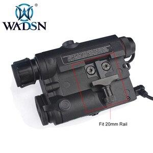 Image 4 - WADSN Airsoft Chiến Thuật Đèn Pin PEQ15 LA5 UHP Xuất Hiện Xanh/Hồng Ngoại Laser Có Đèn LED LA 5C Softair Chiến Thuật Peq LA5C WEX419
