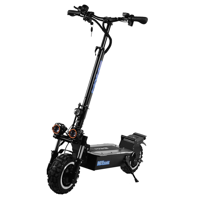 MK8 Newest maike mk8 11inch dual hub motor foldable <font><b>3200w</b></font> electric <font><b>scooter</b></font> with removable seat image
