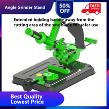 Angle Grinder Fixed Universal Bracket Multifunctional Pull Rod Angle Grinding Machine Stand for 100 or 125 Angle Grinder