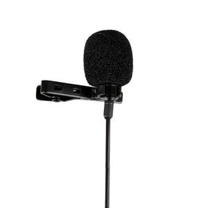Image 2 - YC LM20 3,5mm Omni directional Clip auf Lavalier mikrofon Mic Kabel Länge 6M für Smartphone Tablet Laptop & camcorder DV DSLR