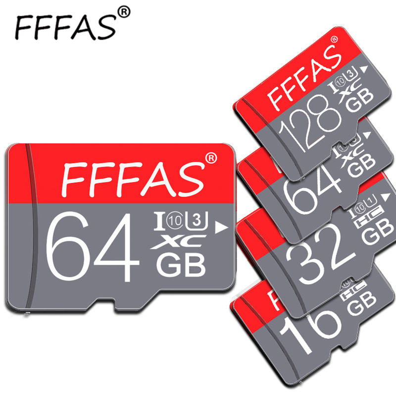 Fashion High Quality Micro SD Card 32GB 64GB 128GB C10 Memory Card 8GB 16GB Mini TF Card With Gift Adapter For Smartphone And PC