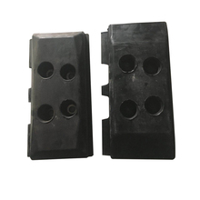 machinery parts rubber track caterpillar compatible Construction parts cnc machinery parts for plastic mold