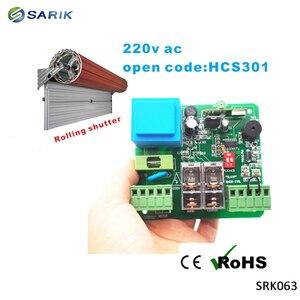 Image 3 - 220V Roller Shutters wireless Motor Receiver for Garage Door Controller Remote Universal 2 Channel Receiver 1*receiver+2*remote