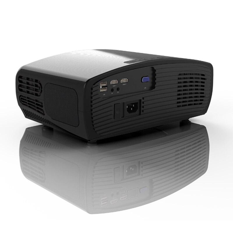 WZATCO C2 1920*1080P Full HD 45 degrés numérique keystone projecteur LED android 9.0 Wifi en option Portable maison Proyector Beamer - 2