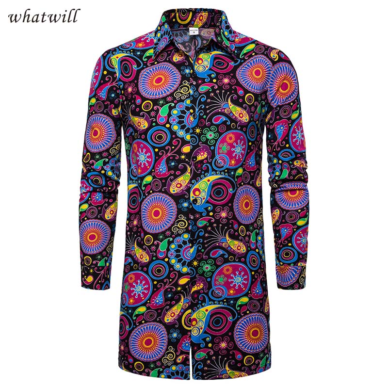 Africa Clothing Dress Long Shirts Mens Fashion African Dresses Clothes Fitness Robe Africaine Casual Blouse