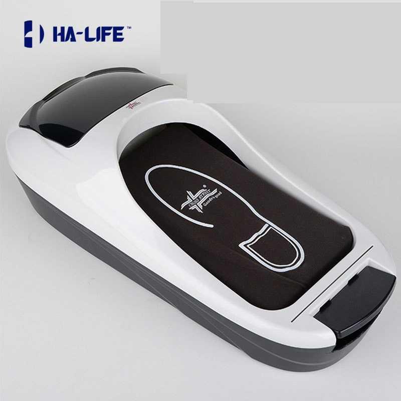 Lovoski Portable Auto Shoe Cover Dispenser for Home Office w// Shoe Membranes