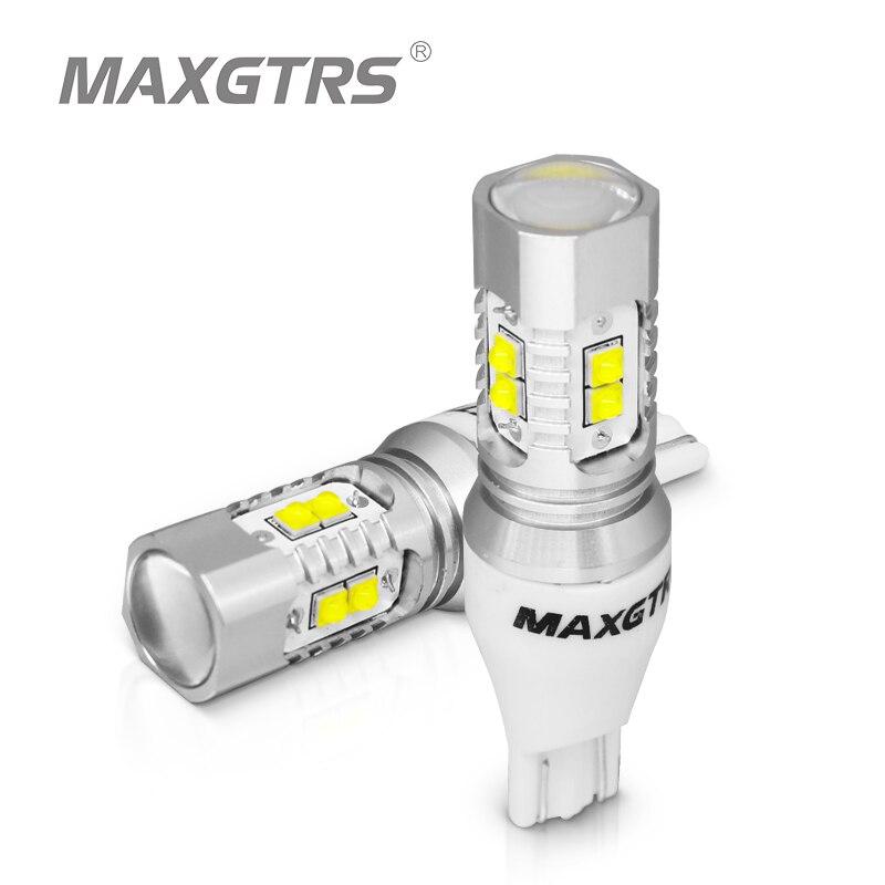 2x CREE Chip XBD 50W T15 W16W 921 912 LED Backup Light 12V 24V Car Reversing Bulb Backup Light Turn Signal Light Brake Lamplamp linklamp commanderlamp effects -