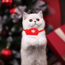 Christmas Pet Collar for Dog Cat Funny Decorative collar Puppy Cute Necklace Kitten Accessories Supplies
