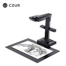 CZUR ET16 плюс книга сканер с OCR функция 16MP HD камера, A3 A4 документ фото Портативный высокоскоростной считыватель для ПК Windows Mac