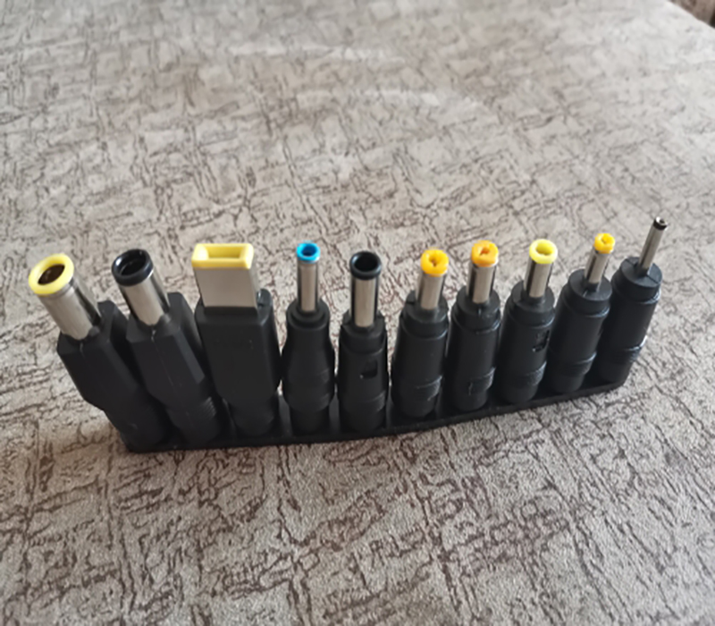 1Set/10Pcs Universal for Notebook Laptop DC Power Charger Supply Adapter Tips Connector Jack to Plug Charging