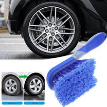 Car Motorcycle Wheel Tire Rim Scrub Brush Washing Cleaning Tool Cleaner For All Kinds Of Vehicle Wheel Tire Equipment Cleaning(China)