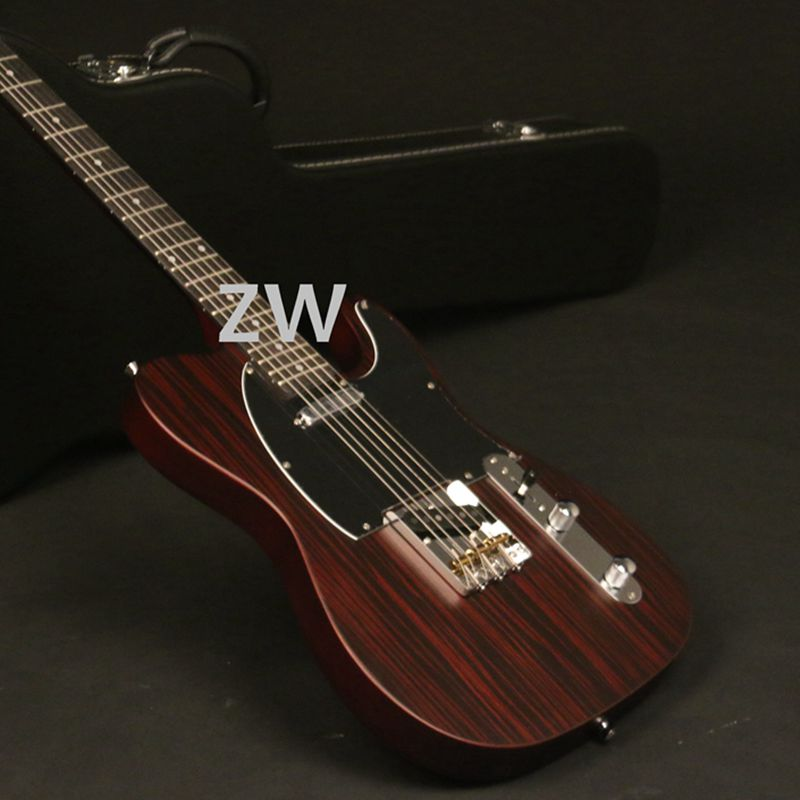 New Arrial Limited Edition TL Electric Guitar Bone Nut Rosewood Venner Matt Brown Finish Brass Saddles Two Options