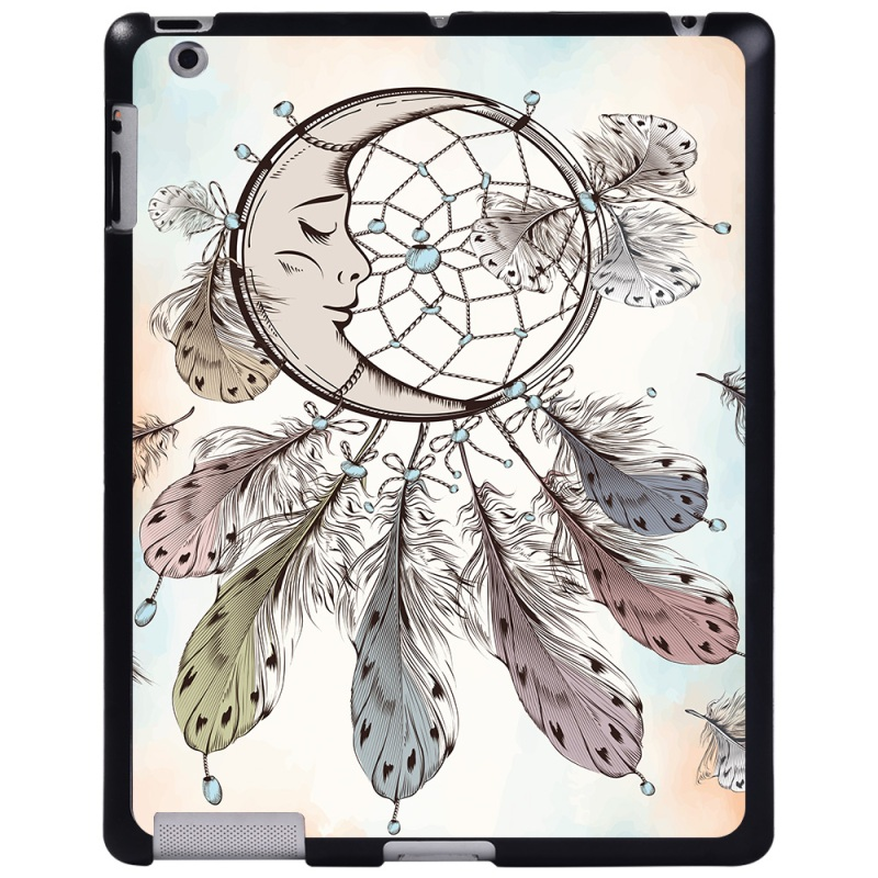 moon dream feather Rose Red For Apple iPad 8 10 2 2020 8th 8 Generation A2428 A2429 tablet PC Plastic Printed