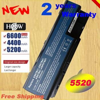 HSW batería de 6 celdas para Acer Aspire 5300, 5310, 5315, 5320,...