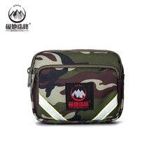 Men's belt bag Tactical Pouch Belt Waist Pack Bag Small Pocket Military Waist bag Running Pouch Travel Camping Bags Soft back